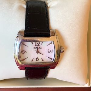 Honora mother of pearl watch